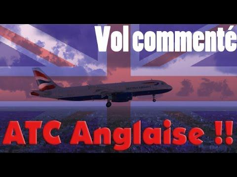 Vol Commenté + ATC en ANGLAIS ! A320 Dublin-Lille