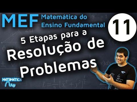 MEF 11 - 5 ETAPAS PARA RESOLUÇÃO DE PROBLEMAS MATEMÁTICOS