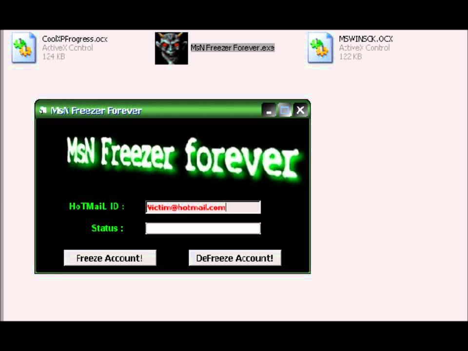 FOREVER BAIXAR MSN FREEZER