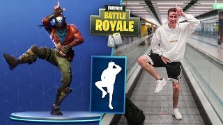 FORTNITE DANCES IN PUBLIC!