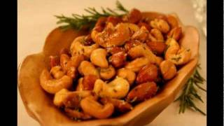 Oven Roasted Rosemary Nuts