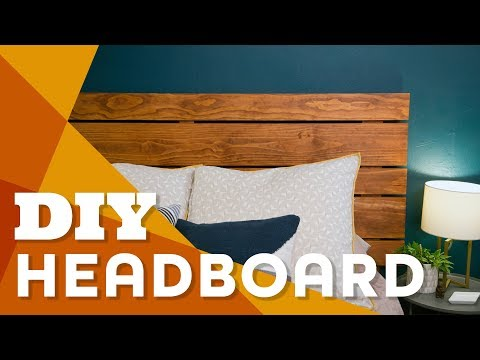 Make a Wood Headboard for Less Than $100 - HGTV Handmade