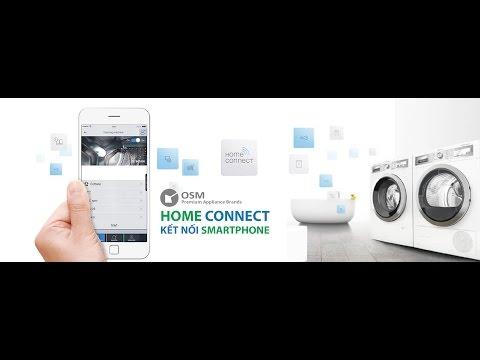 Công Nghệ Điều Khiển Từ Xa Bosch Home Connect – Waschmaschine DE