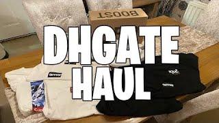 $300 Dhgate Replica Clothing Haul! Supreme, Yezzys + MORE!