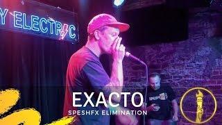 Exacto   Elimination   SpeshFX Battle   American Beatbox