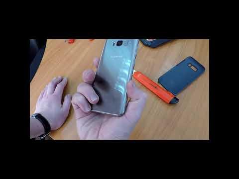 Не работает датчик отпечатка пальца в Samsung S8? Так делать не надо точно!