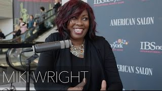 American Salon Magazine Interview With Miki Wright at The International Beauty Show New York City
