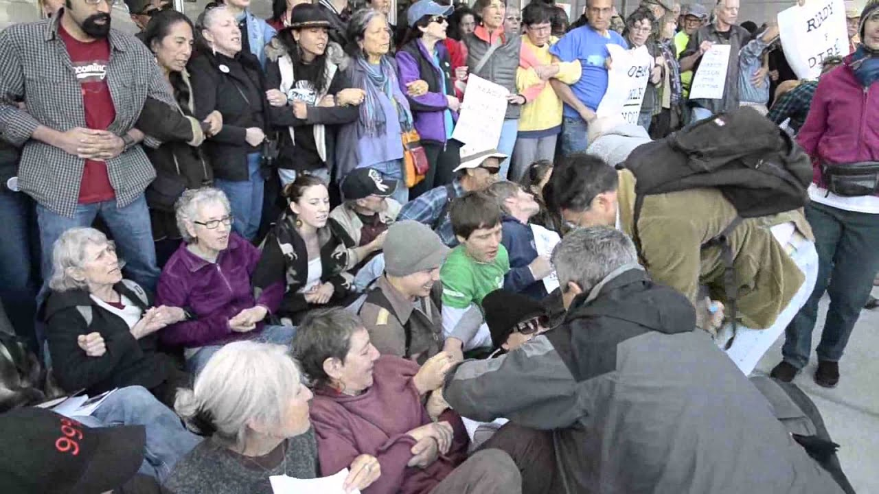 Keystone XL Pipeline Nonviolent Direct Action Training in ...Non Violent Resistance Training
