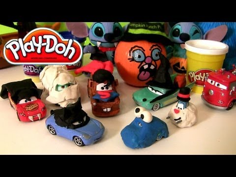 PlayDoh CARS Superheroes Superman Mater Catwoman Sally Cookie Monster Halloween Costumes & PlayDoh CARS Superheroes Superman Mater Catwoman Sally Cookie ...