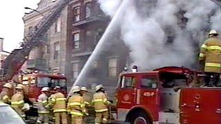 Pompiers de Montréal - SIM (1990) Émission