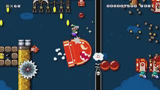 = SELF DESTRUCT 2: JETBLAST = by Reus - Super Mario Maker 2 - No Commentary