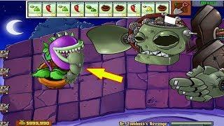 Plants vs Zombies Hack - Chomper vs Dr. Zomboss