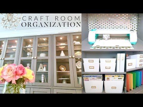 CRAFT ROOM ORGANIZATION | PLANNER SUPPLIES STORAGE | IKEA HACK