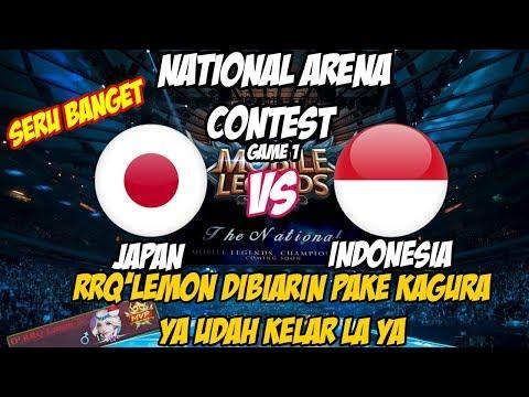 RRQ'Lemon(Kagura Tergila) DIBIARIN Dipake KAGURANYA, YA AUTO WIN | NATIONAL ARENA CONTEST 07112017