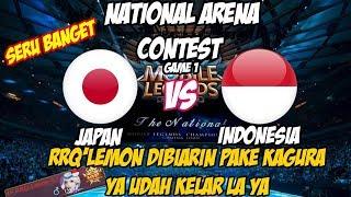 RRQ'Lemon(Kagura Tergila) DIBIARIN Dipake KAGURANYA, YA AUTO WIN | NATIONAL ARENA CONTEST 07112017 thumbnail