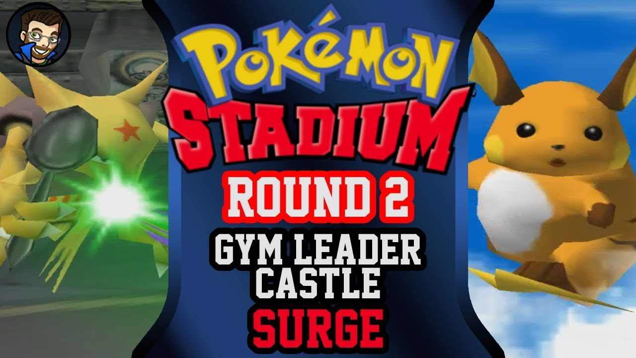 Pokémon Stadium Round 2 Gym Leader Castle Surge