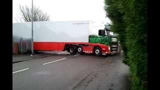 Amazing lorry parking