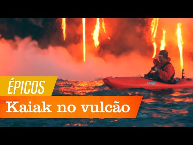 Kaiak no Vulcão Kilauea | Épicos | Canal OFF