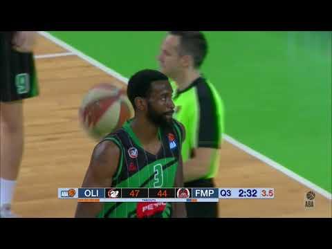 ABA Liga 2018/19 highlights, Round 9: Petrol Olimpija - FMP (24.11.2018)
