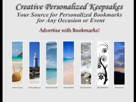 Advertise Your Business With Bookmarks