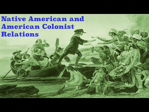 Native Americans and American Colonists (Story Time with Mr. Beat)