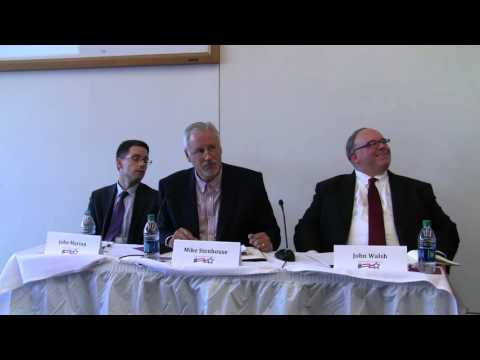 Mike Stenhouse at campaign finance reform panel