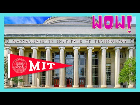 BOSTON, inside the CLASSROOMS of MIT (Massachusetts Institute of Technology)