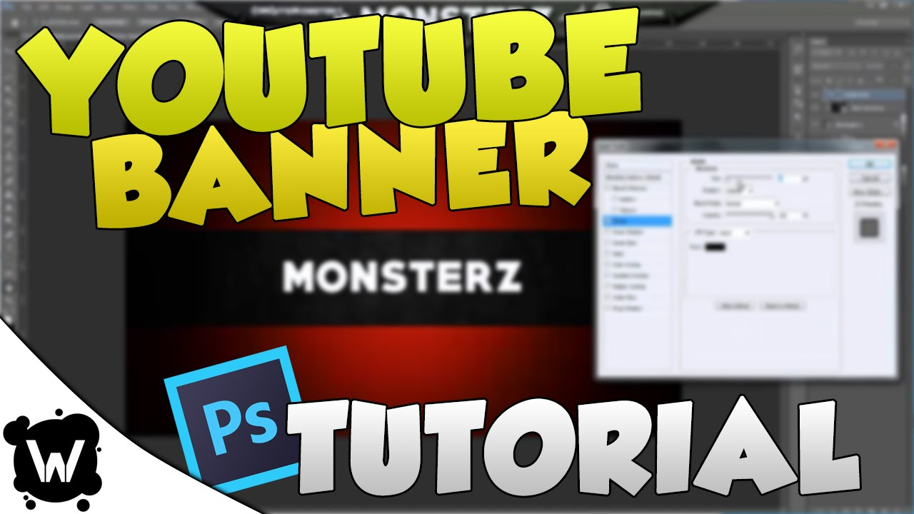 how to make your own channel banner