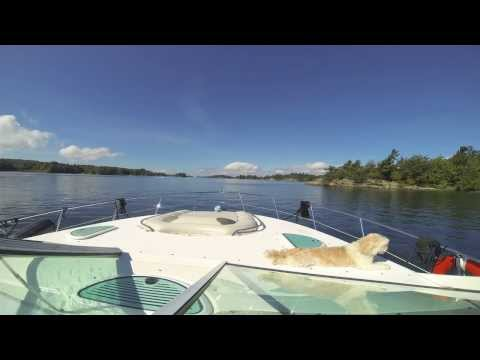 Boating in the 1000 Islands - Time Lapse