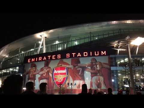 Must see Home of Arsenal FC, Emirates stadium London first experience