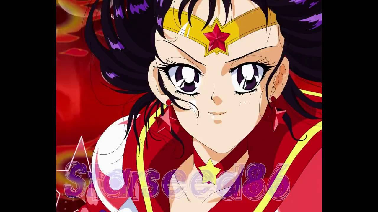 Sailor Mars Henshin (Manga Power Up) - YouTube