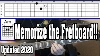 "How to Easily Memorize all of the Notes on the Fretboard with ""The Immersion Method"""