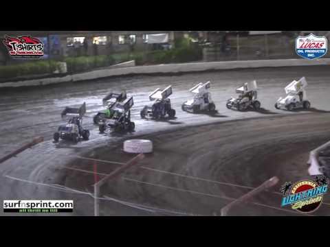 California Lightning Sprints at Bakersfield Speedway - 3/19/16