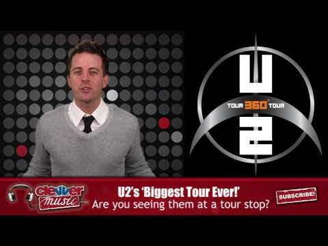 U2 360 Tour Highest-Grossing Tour of All Time