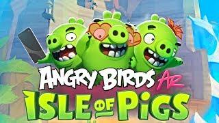Angry Birds AR: Isle of Pigs - Rovio Entertainment Oyj Level 1-7 Walkthrough