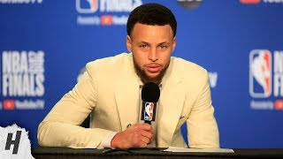 Stephen Curry Postgame Interview - Game 6 | Raptors vs Warriors | 2019 NBA Finals