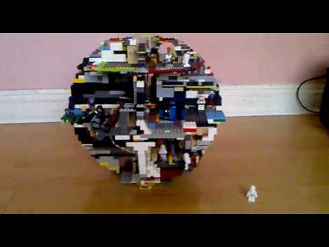 Custom Lego Death Star Youtube