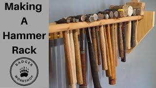 Making A Hammer Rack