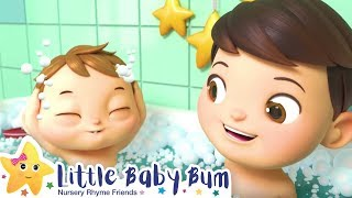 Bath Time Song For Kids +More Nursery Rhymes & Kids Songs - ABCs and 123s | Little Baby Bum