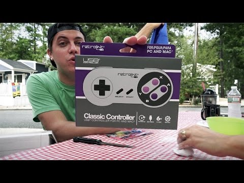 SNES Controller for PC and Mac!