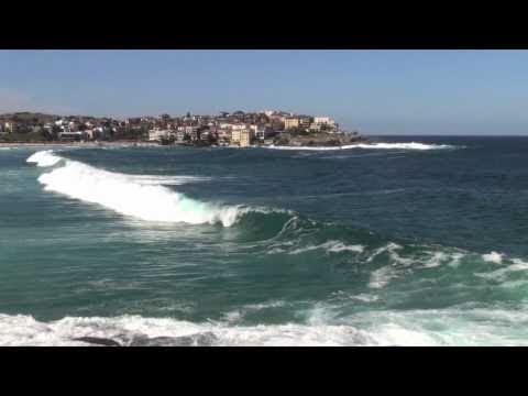 big waves & heavy swell, Bondi & Bronte beach, Sydney, 19.9.10