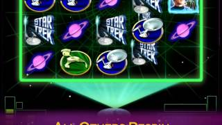 STAR TREK: TREK THROUGH TIME™ online slot game only at Jackpot Party casino
