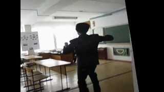 прикольное видео урок в школе
