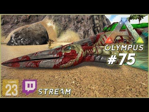 ARK: Olympus • Jurassic Park Peteranodon zähmen • #75 [Let's Play/Deutsch/Stream] Modded ARK