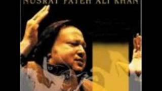 nusrat fateh ali khan farsi song (na man behooda meraqsam)