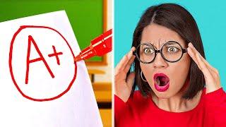LUSTIGE SCHULHACKS UND TRICKS, DIE DU KENNEN MUSST! Ideen für die Schule mit 123 GO! SCHOOL