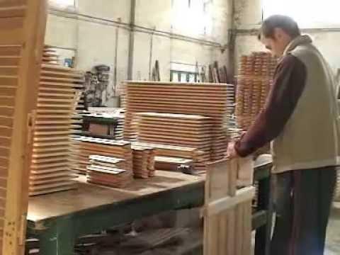 Como hacemos nuestras puertas de paso en madera maciza - Como hacer una puerta rustica ...