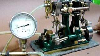 Schiffsdampfmaschine Stuart D10 2