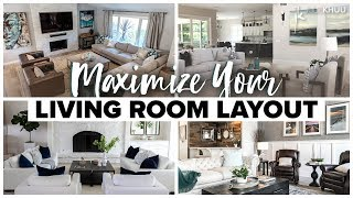 4 Furniture Ideas to Maximize Your Living Room Layout | Julie Khuu