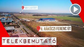 IPARI TERÜLETEK FREKVENTÁLT HELYEN, SZIGETSZENTMIKLÓSON / Drón Videó